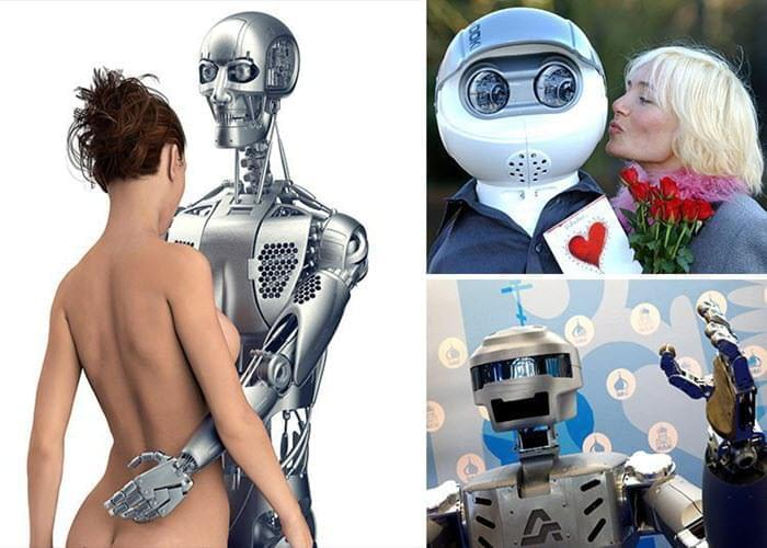 Sex Robots Are The Next Thing